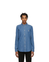 Chemise en jean bleue Ps By Paul Smith