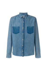 Chemise en jean bleue RtA
