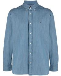 Chemise en jean bleue Tommy Hilfiger
