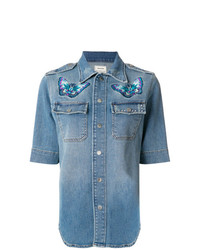 Chemise en jean bleue Zadig & Voltaire