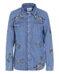Chemise en jean bleue Zoe Karssen