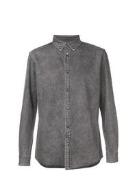 Chemise en jean grise Givenchy