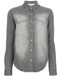 Chemise en jean grise IRO