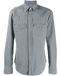 Chemise en jean grise Tom Ford