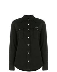 Chemise en jean noire Calvin Klein Jeans