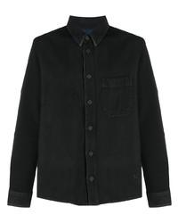 Chemise en jean noire Off-White