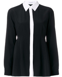 Chemise en soie noire Givenchy
