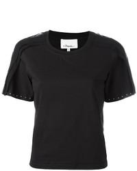 Chemise en soie ornée noire 3.1 Phillip Lim