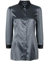 Chemise grise foncée Dolce & Gabbana