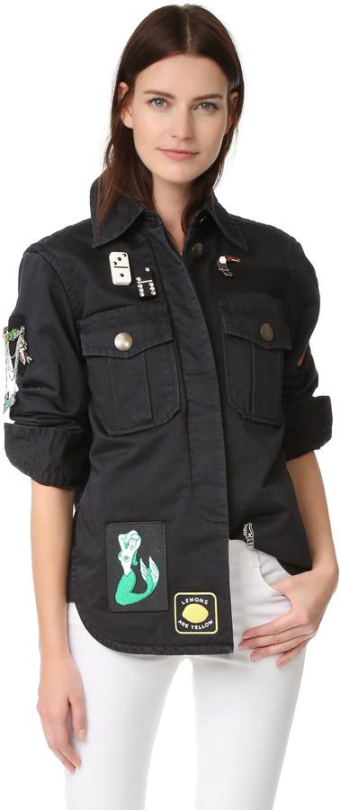 Chemise noire Marc Jacobs