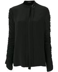 Chemise noire Versace