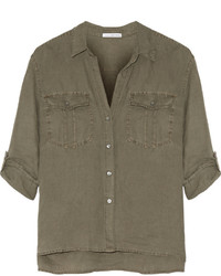 Chemise olive James Perse