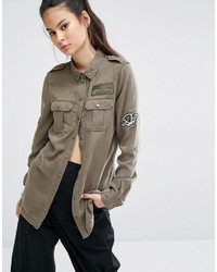 Chemise olive Only
