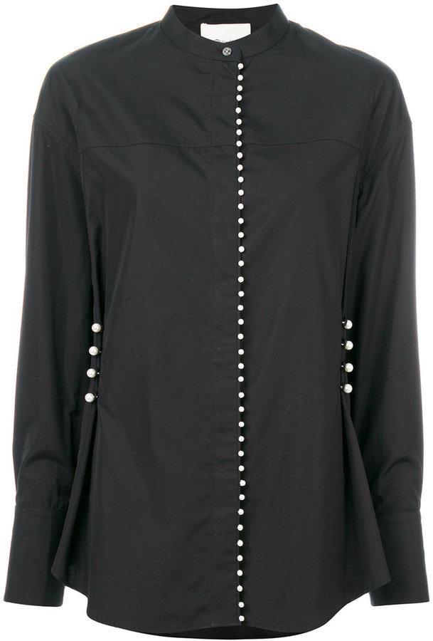 Chemise ornée noire 3.1 Phillip Lim