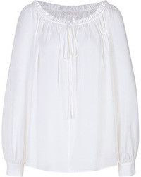Chemise paysanne blanche