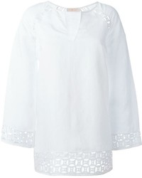 Chemise paysanne blanche Tory Burch