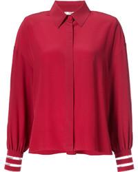 Chemise rouge Fendi