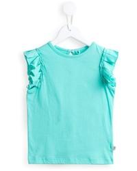 Chemise turquoise Stella McCartney