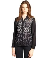 nouveau produit d27af fb6dd Comment porter un chemisier imprimé léopard (32 tenues ...