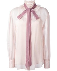 Chemisier boutonné rose See by Chloe