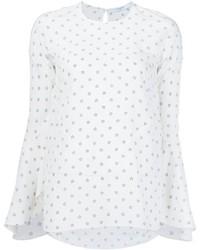 Chemisier en soie blanc Givenchy