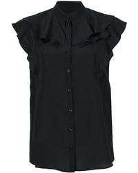 Chemisier en soie noir Givenchy
