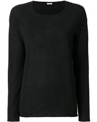 Chemisier en tricot noir P.A.R.O.S.H.