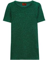 Chemisier en tricot vert Missoni