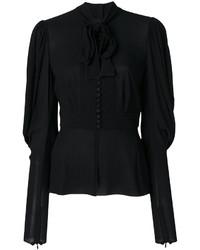 Chemisier noir Dolce & Gabbana