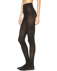 Collants en laine noirs Alice + Olivia