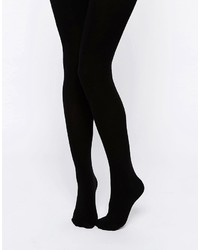 Collants en laine noirs Asos