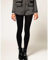 Collants en laine noirs Asos