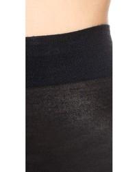 Collants en laine noirs Falke