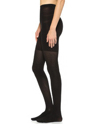 Collants en laine noirs Spanx