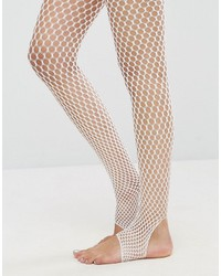 Collants résille blancs Asos