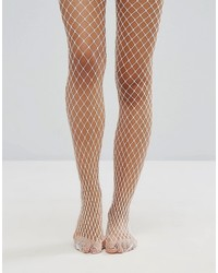 Collants résille blancs Gipsy
