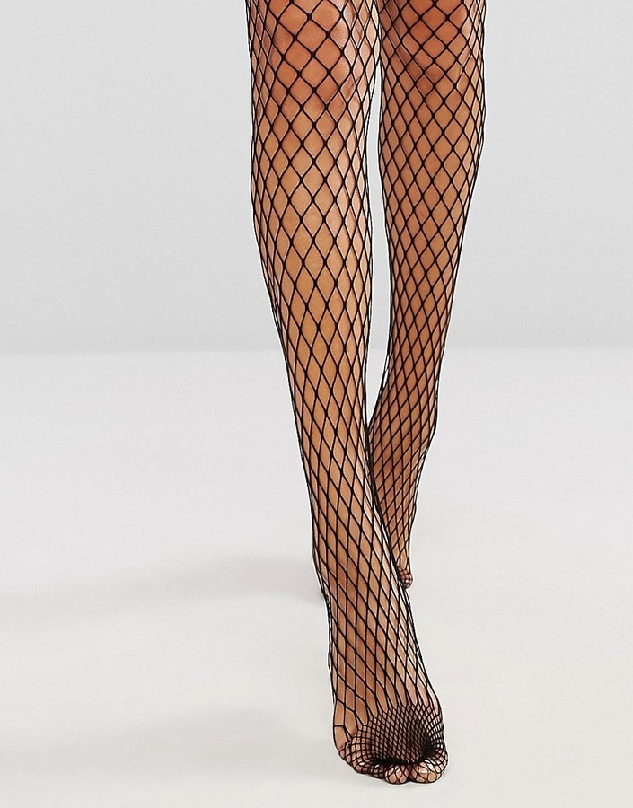Collants résille noirs Gipsy