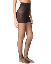 Collants résille noirs Spanx