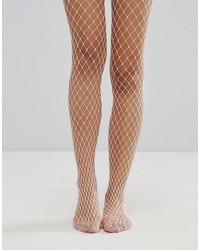 Collants résille roses Gipsy