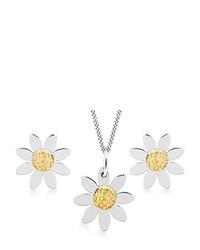 Collier blanc Carissima Gold