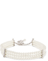 Collier de perles blanc Kenneth Jay Lane
