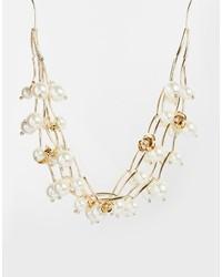 Collier de perles blanc Oasis