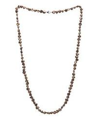 Collier de perles gris Kimura Pearls