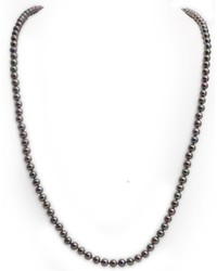 Collier marron foncé Kimura Pearls