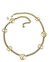 Collier moutarde GUESS