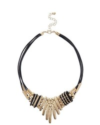 Collier noir New Look