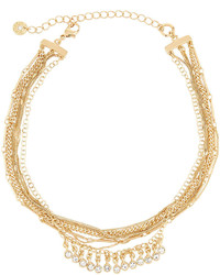 Collier ras de cou jaune Lydell NYC