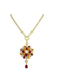 Collier rouge Cristalina