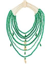Collier vert Rosantica