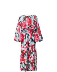 Combinaison pantalon à fleurs multicolore Dolce & Gabbana